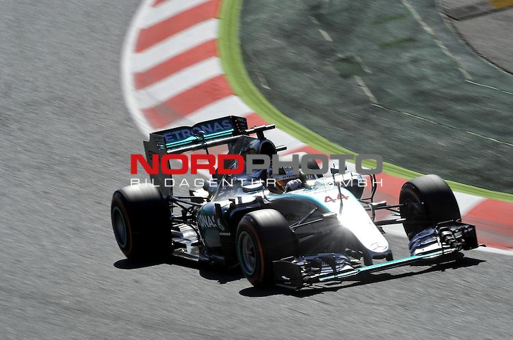 07.05 - 10.05.2015, Circuit de Catalunya, Barcelona, ESP, Formel 1, 2015,  im Bild Lewis Hamilton (GBR), Mercedes GP<br />  Foto &copy; nph / Mathis
