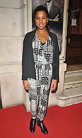 Jade Anouka at the &quot;Girl From The North Country&quot; press night, Noel Coward Theatre, St Martin's Lane, London, England, UK, on Thursday 11 January 2018.<br /> CAP/CAN<br /> &copy;CAN/Capital Pictures