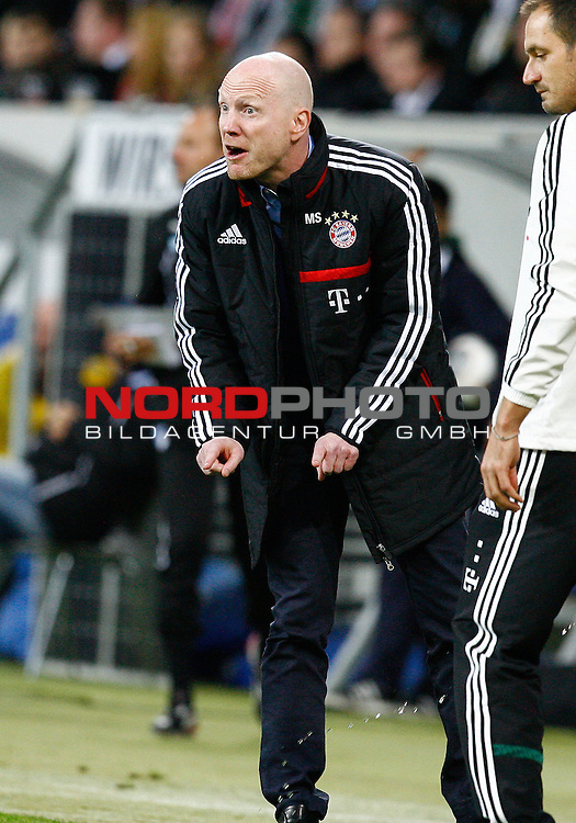 02.11.2013, WIRSOL Rhein-Neckar-Arena, Sinsheim, GER, 1.FBL, TSG 1899 Hoffenheim vs FC Bayern M&radic;ľnchen, Matthias SAMMER, Sportdirektor FCB, Coachingzone, Gestik<br /> <br /> Foto &not;&copy; nph / H.Koerkel *** Local Caption ***