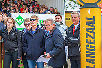 ESNZ HP Eventing Team Manager: Graeme Thom and the NZ Supporters watch: NZL-Sir Mark Todd rides McClaren during the Showjumping. Final-7th. 2017 NED-Military Boekelo CCIO3* FEI Nation Cup Eventing. Sunday 8 October. Copyright Photo: Libby Law Photography