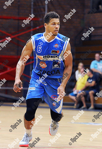 2015-08-29 / Basketbal / Seizoen 2015-2016 / Kangoeroes Willebroek / Chris Eversley<br />