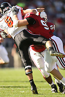 18 November 2006: Chris Horn during Stanford's 30-7 loss to Oregon State at Stanford Stadium in Stanford, CA.