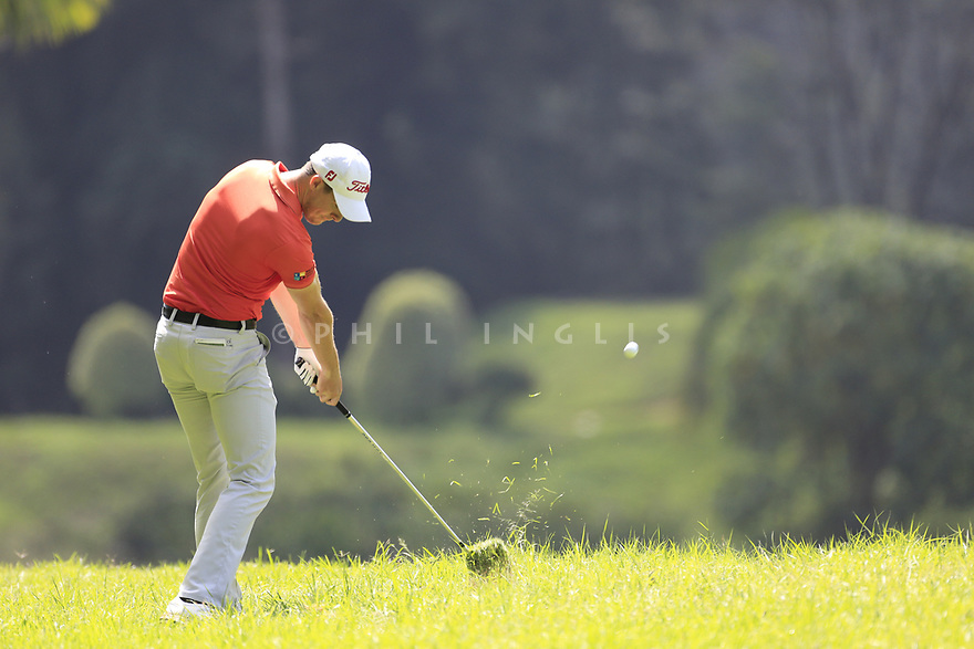 Gary Hurley (IRE) during the third round of the Barclays Kenya Open played at Muthaiga Golf Club, Nairobi, Kenya 22nd - 25th March 2018 (Picture Credit / Phil Inglis) 22/03/2018<br /> <br /> <br /> All photo usage must carry mandatory copyright credit (&copy; Golffile | Phil Inglis)
