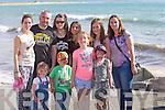 Front row left to right, Aine O'Shea, Philip Moriarty, Lauren Smullen, Maura O'Shea. Back row left to right, Caroline O'Shea, Cathal O'Shea, Jade Smullen, Sara Varro Vazgouz, Ciara Carolan, Mary Smullen at Ballyheigue Summer Festival Grand Parade on Sunday