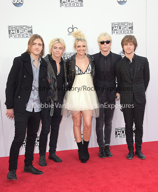 R5 at The 2014 American Music Award held at The Nokia Theatre L.A. Live in Los Angeles, California on November 23,2014                                                                               © 2014 Hollywood Press Agency
