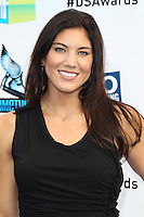 SANTA MONICA, CA - AUGUST 19: Hope Solo at the 2012 Do Something Awards at Barker Hangar on August 19, 2012 in Santa Monica, California. Credit: mpi21/MediaPunch Inc. /NortePhoto.com<br />