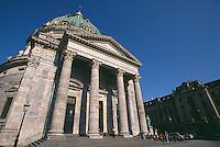 Daenemark, Marmor Kiche ( Marmorkirke = Frederikskirke) in Kopenhagen