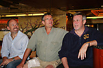 Adam Reist - Jordan Clarke - Ron Raines - Fans and Liz Keifer play bingo and have a Meet & Greet - Day 2 - August 1, 2010 - So Long Springfield at Sea aboard Carnival's Glory (Photos by Sue Coflin/Max Photos)
