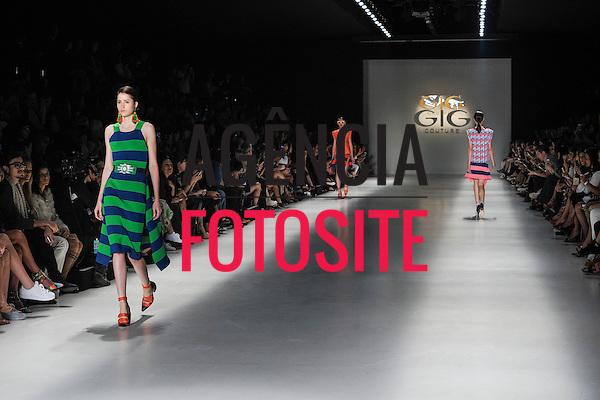 Gig Coulture<br /> <br /> Sao Paulo Fashion Week- Verao 2016<br /> Abril/2015<br /> <br /> foto: Rafael Chacon/Agencia Fotosite
