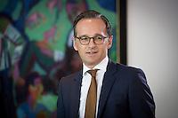Bundesjustizminister Heiko Maas (SPD) nimmt am Mittwoch (21.09.16) in Berlin an der Sitzung des Bundeskabinetts teil.<br /> Foto: Axel Schmidt/CommonLens