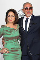 LOS ANGELES, CA - NOVEMBER 18: Gloria Estefan and Emilio Estefan at the 40th American Music Awards held at Nokia Theatre L.A. Live on November 18, 2012 in Los Angeles, California. Credit: mpi20/MediaPunch Inc. NortePhoto