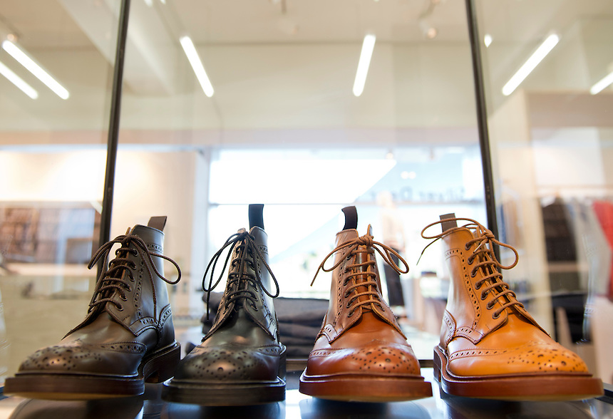 Tricker´s Boots at Robert Hurch´s Silver Deer store, Santa Fe, Mexico City.