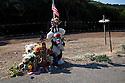 Isaac Brott Roadside Memorial - One Year Later