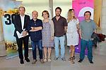 Presentacio: La Sagrada Familia compte enrera.<br /> Vicent Sanchis, Eduard Sanjuan, Roser Oliver, Carles Se&ntilde;alada, Jessica Montaner &amp; Enric Miro.