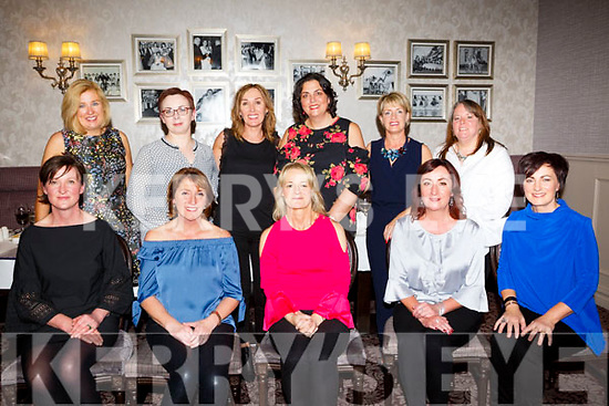 Celebrating 25 year Nurses Class Reunion from UHK at the Rose Hotel on Saturday. Pictured front l-r Eileen Ambrose, Hannah Buckley, Berni O'Connor , Niamh Earley, Bragina Devitt, Back l-r Sheila Foley, Joan McGrath, Caitriona Carey, Evelyn Finnegan, Orla Culloty and Noreen Finnegan