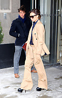 www.acepixs.com<br /> <br /> March 15 2017, New York City<br /> <br /> Victoria Beckham leaves a downtown hotel on March 15 2017 in New York City<br /> <br /> By Line: Zelig Shaul/ACE Pictures<br /> <br /> <br /> ACE Pictures Inc<br /> Tel: 6467670430<br /> Email: info@acepixs.com<br /> www.acepixs.com