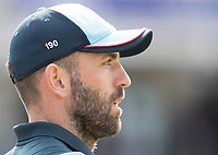 Liam Plunkett (England) during England vs New Zealand, ICC World Cup Cricket at The Riverside Ground on 3rd July 2019