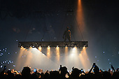 MIAMI FL - SEPTEMBER 17: Kanye West performs at The American Airlines Arena on September 17, 2016 in Miami, Florida. Photo by Larry Marano &copy; 2016<br /> <br /> DO NOT POST ON AGENCY WEB SITE