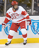 Jason Lawrence - The Boston University Terriers defeated the Boston College Eagles 2-1 in overtime in the March 18, 2006 Hockey East Final at the TD Banknorth Garden in Boston, MA.