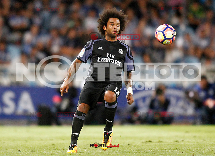 Real Madrid's Marcelo Vieira during La Liga match. August 21,2016. (ALTERPHOTOS/Acero) /NORTEPHOTO.COM