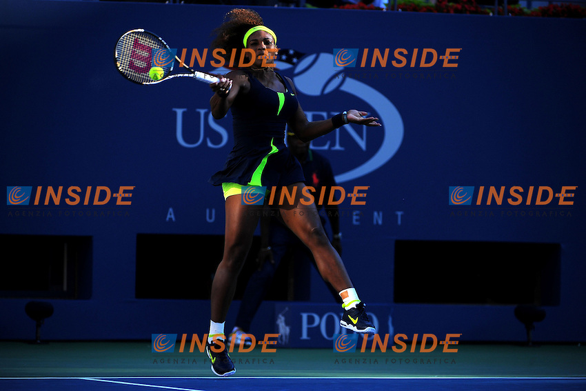 Serena Williams (USA) .Flushing Meadows 9/9/2012 .Tennis Us Open Grande Slam.Finale Torneo Femminile.Foto Insidefoto / Virginie Bouyer / Panoramic.ITALY ONLY