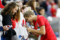 Saint Paul, MN - Tuesday September 03, 2019 : Abby Dahlkemper #7 after the  USWNT 2019 Victory Tour match versus Portugal at Allianz Field, on September 03, 2019 in Saint Paul, Minnesota.