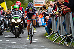 Pirimin Lang (IAM Cycling) at Cote de La Redoute, Aywaille, Belgium, 27 April 2014, Photo by Thomas van Bracht / www.pelotonphotos.com