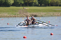 Race: 37  Event: WJ18 2x  A Final<br /> <br /> Junior Sculling Regatta 2018<br /> <br /> To purchase this photo, or to see pricing information for Prints and Downloads, click the blue 'Add to Cart' button at the top-right of the page.