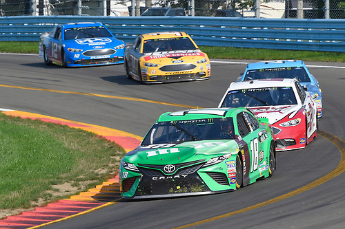 #18: Kyle Busch, Joe Gibbs Racing, Toyota Camry M&M's Flavor Vote Winner, #2: Brad Keselowski, Team Penske, Ford Fusion Wabash National