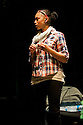 "18/05/2011.  ""Mad Blud"" opens at Theatre Royal Stratford East. A new work exploring the reality behind the headlines of knife crime. Picture shows Joanne Sandi. Photo credit should read Jane Hobson"