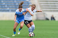 Bridgeview, IL - Sunday June 25, 2017: Arin Gilliland, Madison Tiernan during a regular season National Women's Soccer League (NWSL) match between the Chicago Red Stars and Sky Blue FC at Toyota Park. The Red Stars won 2-1.