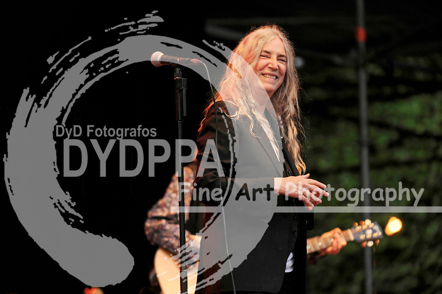 Patti Smith live beim Stadtpark Open Air 2017 auf der Freilichtbühne im Stadtpark. Hamburg, 16.08.2017