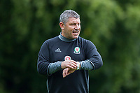 Osian Roberts during Wales national team training at Vale Resort, Hensol, Wales on 4 September 2017, ahead of the side's World Cup Qualification match against Moldova. Photo by Mark  Hawkins.