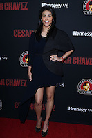 "HOLLYWOOD, LOS ANGELES, CA, USA - MARCH 20: Olga Segura at the Los Angeles Premiere Of Pantelion Films And Participant Media's ""Cesar Chavez"" held at TCL Chinese Theatre on March 20, 2014 in Hollywood, Los Angeles, California, United States. (Photo by David Acosta/Celebrity Monitor)"