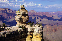 South rim view of Grand Canyon in Arizona, USA