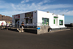 Ticket Office for Lineas Romero ferry from Orzola to Isla La Graciosa, Lanzarote, Canary Islands, Spain