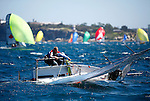 CST Composites International 14 World Championship take place .from the 28th December 2009 to 11th Jan 2010. 110 boats participating in this event, hosted by the Manly 16 Foot Skiff Club in Sydney Australia.With over 100 teams from 10 nations...The International 14 is 14-foot double-handed racing dinghy. The class originated in England in the early part of the 20th century. It is sailed and raced in many countries around the world and was one of the very first true international racing dinghy classes.