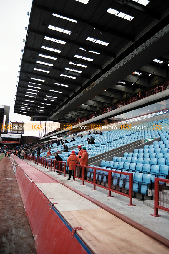 General view of Aston Villa FC Football Ground, Villa Park, Aston, Birmingham, pictured on 6th January 1996