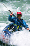 Kayaker on the Middle Fork of the American River