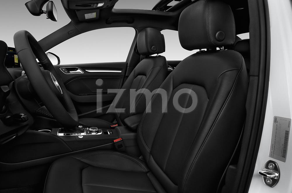 Front seat view of 2018 Audi A3 Sportback e tron Premium  5 Door Hatchback front seat car photos
