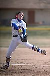 Wildcats' Kristina George pitches against College of Southern Idaho in Carson City, Nev., on Friday, Feb. 27, 2015. <br /> Photo by Cathleen Allison/Nevada Photo Source