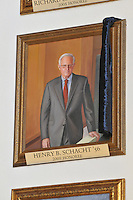 Henry B. Schacht, Blue Leadership Honoree 2009, Yale University Athletics. This Portrait hangs in the Kiphuth Trophy Room, Payne Whitney Gym.