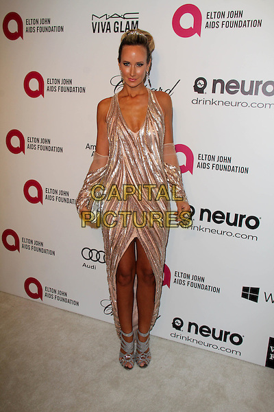 WEST HOLLYWOOD, CA - March 02: Victoria Hervey at the 22nd Annual Elton John AIDS Foundation Oscar Viewing Party Arrivals, Private Location, West Hollywood,  March 02, 2014. <br /> CAP/MPI/JO<br /> &copy;JO/MPI/Capital Pictures