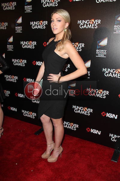 Maria Breese<br /> at &quot;The Hungover Games&quot; Premiere, TCL Chinese 6, Hollywood, CA 02-11-14<br /> David Edwards/Dailyceleb.com 818-249-4998