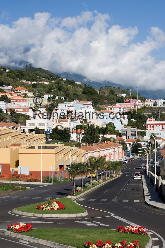 Spain, Canary Islands, La Palma, Villa de Mazo: overview