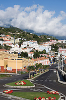 Spain, Canary Islands, La Palma, Villa de Mazo: overview
