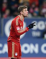 FUSSBALL   1. BUNDESLIGA  SAISON 2012/2013   16. Spieltag FC Augsburg - FC Bayern Muenchen         08.12.2012 Thomas Mueller (FC Bayern Muenchen)