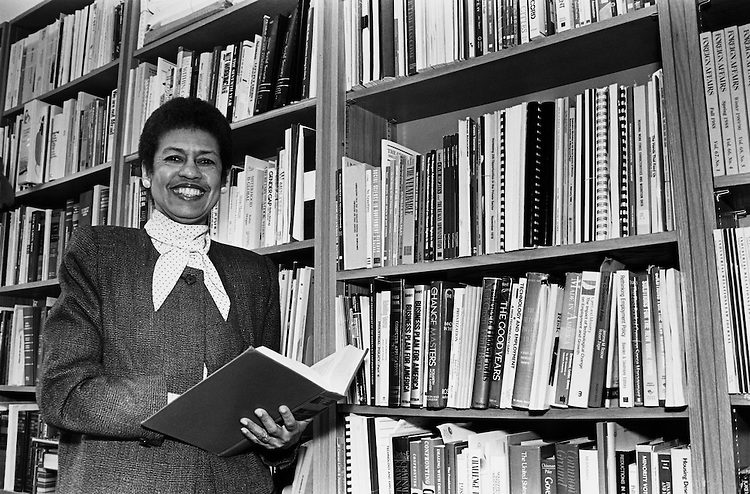 Rep. Eleanor Holmes Norton, D-D.C. Delegate candidate. May 24, 1990. (Photo by Laura Patterson/CQ Roll Call)