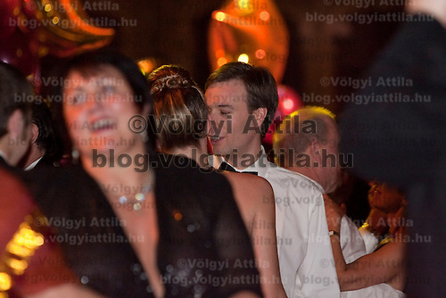 Ball on new year's eve in the State Opera House in Budapest, Hungary on January 01, 2006. ATTILA VOLGYI