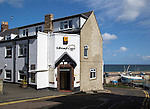 Bamburgh Castle Inn hotel, Seahouses, Northumberland, England, UK
